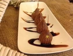 Steamed Chocolate Modak!