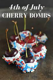 4th Of July Cherry Bombs!