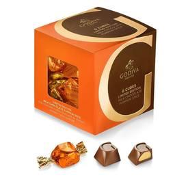 Godiva Milk Chocolate Pumpkin Psice Truffles!