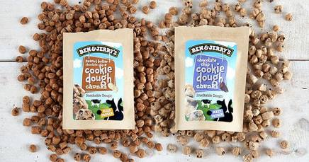 Ben & Jerry's Snackable Cookie Dough!