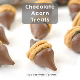 Chocolate Acorn Treats!