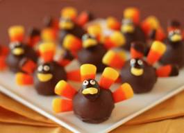Diy Chocolate Turkeys!
