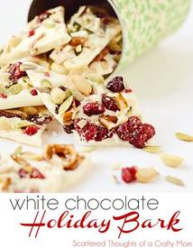 White Chocolate Holiday Bark!