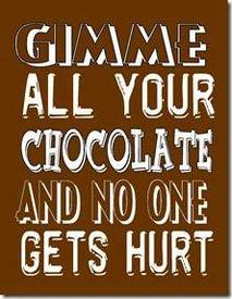 Chocolate To The Rescue!