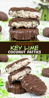 Homemade Key Lime Coconut Patties