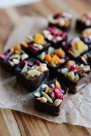 Dark Chocolate Snack Bites!