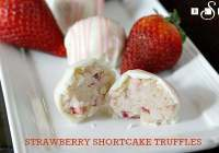 Strawberry Shortcake Truffles! Strawberry Shortcake Is The Quintessential Taste Of Summer!