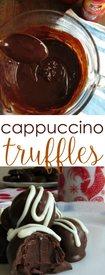 Cappuccino Truffles!