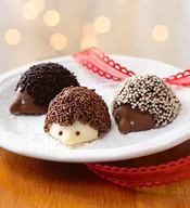 Chocolate Hedgehog Truffles!