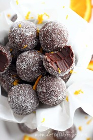 Easy Chocolate Orange Truffles!