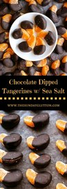 Chocolate Dipped Tangerines!
