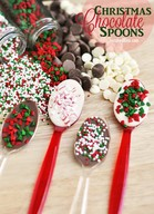 Christmas Chocolate Spoons!