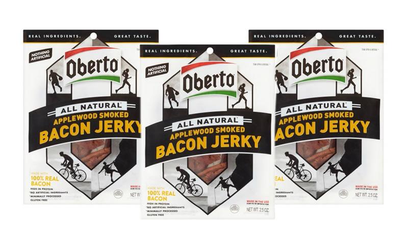 Oberto bacon jerky 3ct