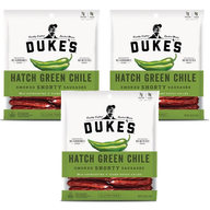 Duke's Smoked Shorty Sausages - Hatch Green Chile (3 Bags)