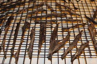 Natural Goose Or Duck Jerky!
