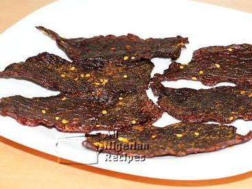 Kilishi- Spiced Nigerian Beef Jerky!