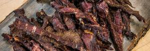 Peppered Beef Jerky!