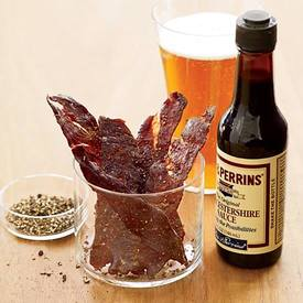 Black Pepper Jerky!