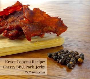 Copycat Krave Black Cherry Bbq Pork Jerky!
