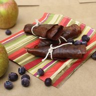 Apple Blueberry Fruit Leather!