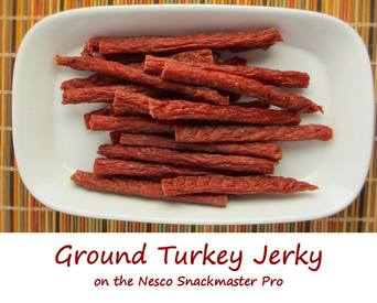 Ground Turkey Jerky!