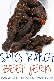 Spicy Ranch Beef Jerky!