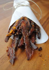 Dehydrated Salmon Jerky!