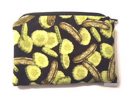 Pickle Coin Purse Pickle Wallet Change Gift Card Holder
