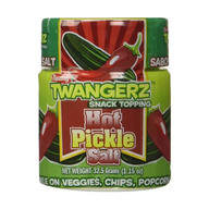 Hot Pickle Salt - Spicy Pickles Flavored Seasoning Snack Topping (1 oz Shaker)