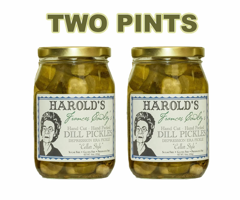 New old fashioned dill pint two
