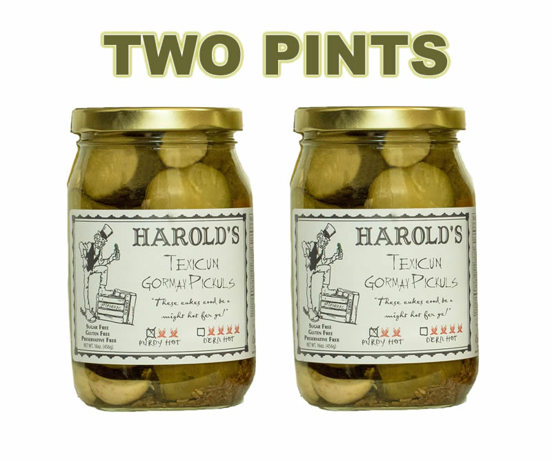 New 2x habanero dills pint two