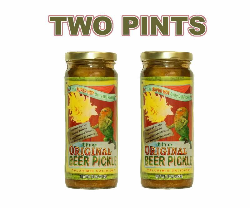 New beer pickles two
