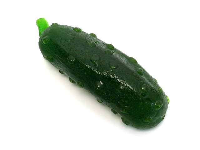 Gummy pickle white
