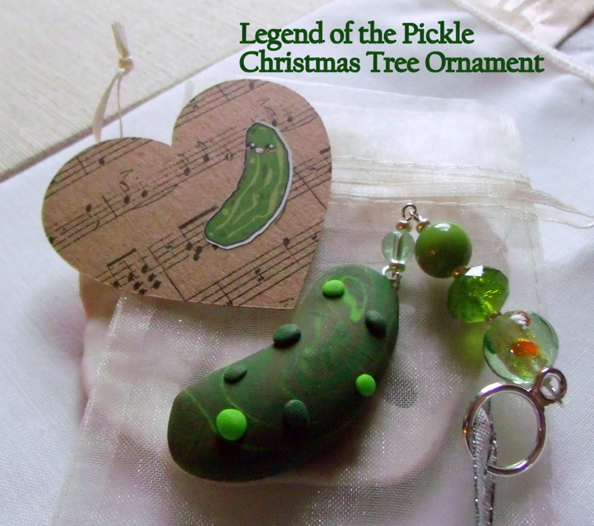 Christmas Tree Pickle Tradition: Legend Of The Pickle Holiday