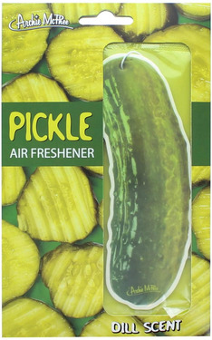 Pickle Air Freshener - Hanging Pickles Scented Air Freshner - Dill Scent