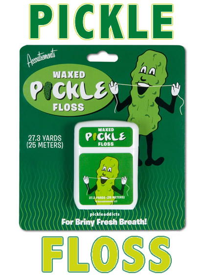 Pickle floss words