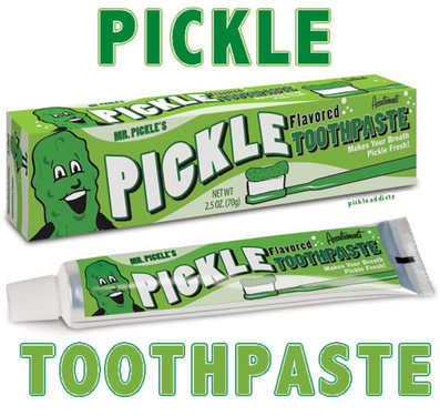 Pickle Flavor Toothpaste Dill Flavored Tooth Paste