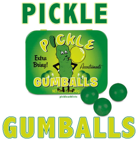 Pickle gumballs words