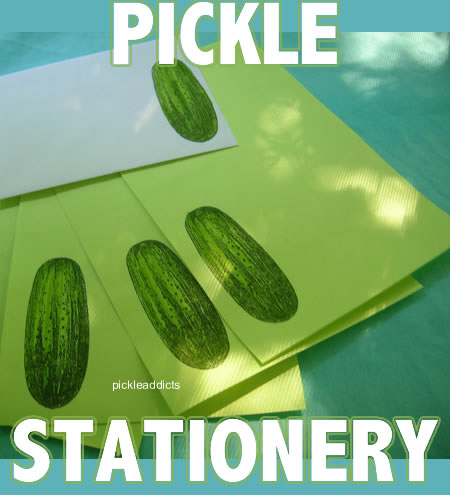 Pickle stationery words