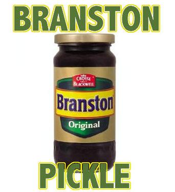 Branston Pickle Original English Relish British Condimanet (11 oz jar)