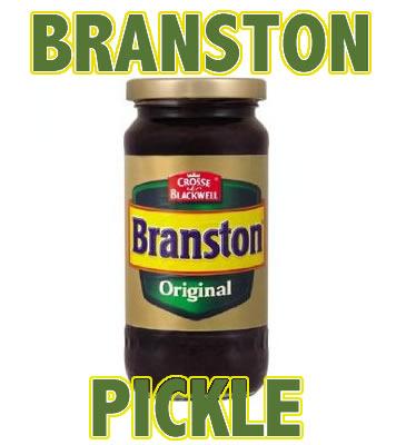 Branston pickle words
