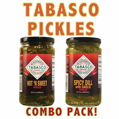 Tabasco pickles combo