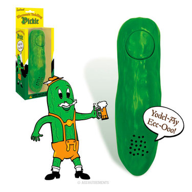 Yodeling Pickle - Fun Pickel Toy Funny Gag Gift