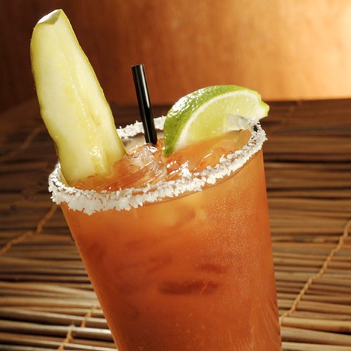 Pickle bloody mary