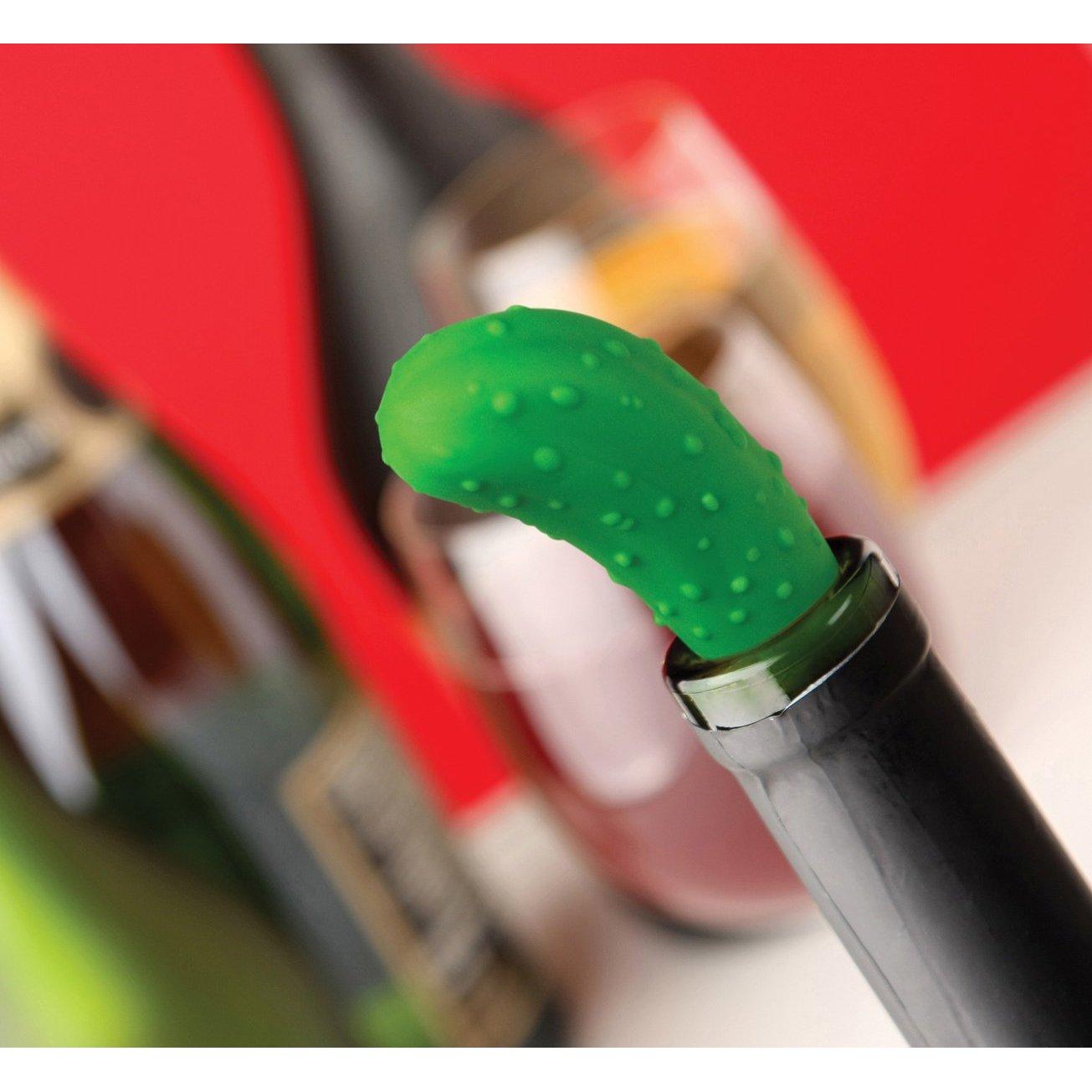 Pickle stopper bottle