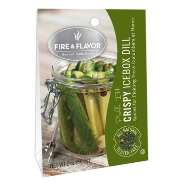 Fire & Flavor Pickling Spices - Crispy Kosher Dill Pickle Seasoning Spice Mix