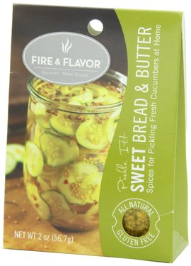 Fire & Flavor Pickling Spices - Sweet Bread & Butter Pickle Seasoning Spice Mix
