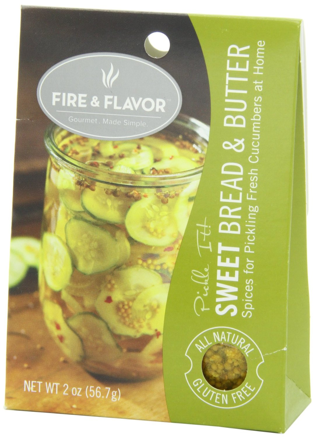 Fire flavor sweet pickling spice