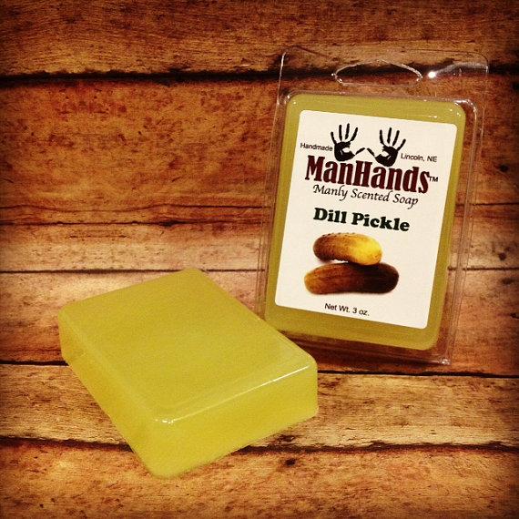 Pickle soap manhands