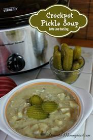 Crock Pot Pickle Soup!